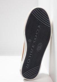 TOM TAILOR - Sneakersy niskie - cognac - 4