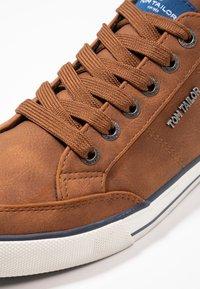 TOM TAILOR - Sneakersy niskie - cognac - 5