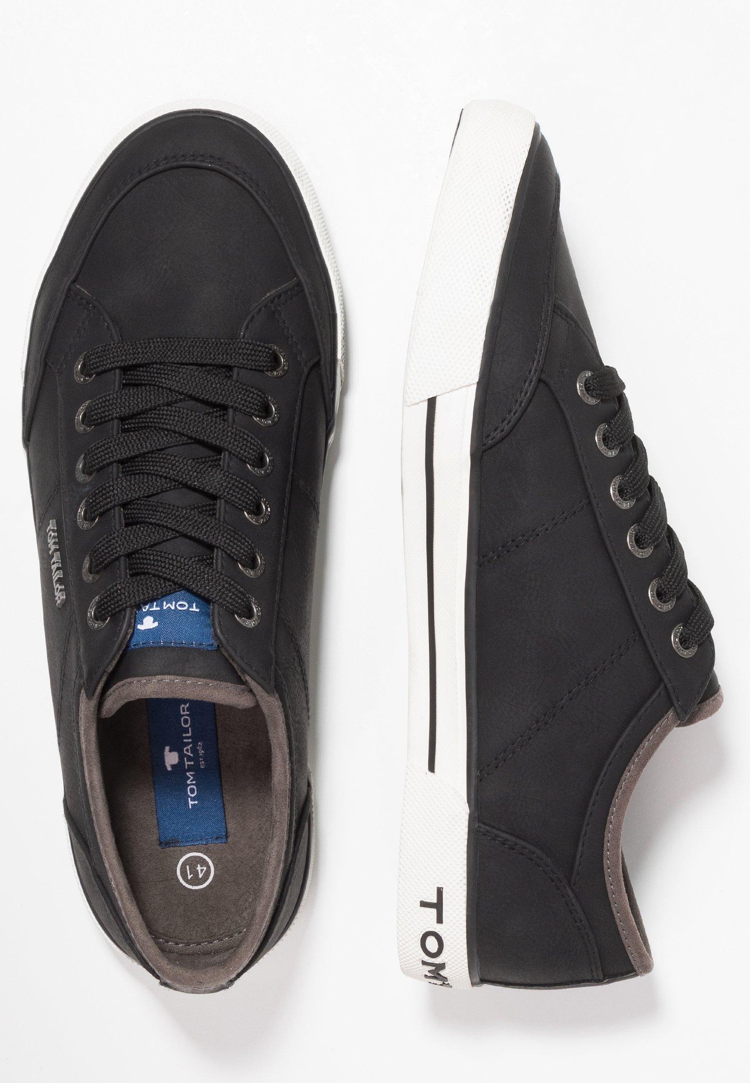 Tom Tailor Sneakers Laag - Black Goedkope Schoenen