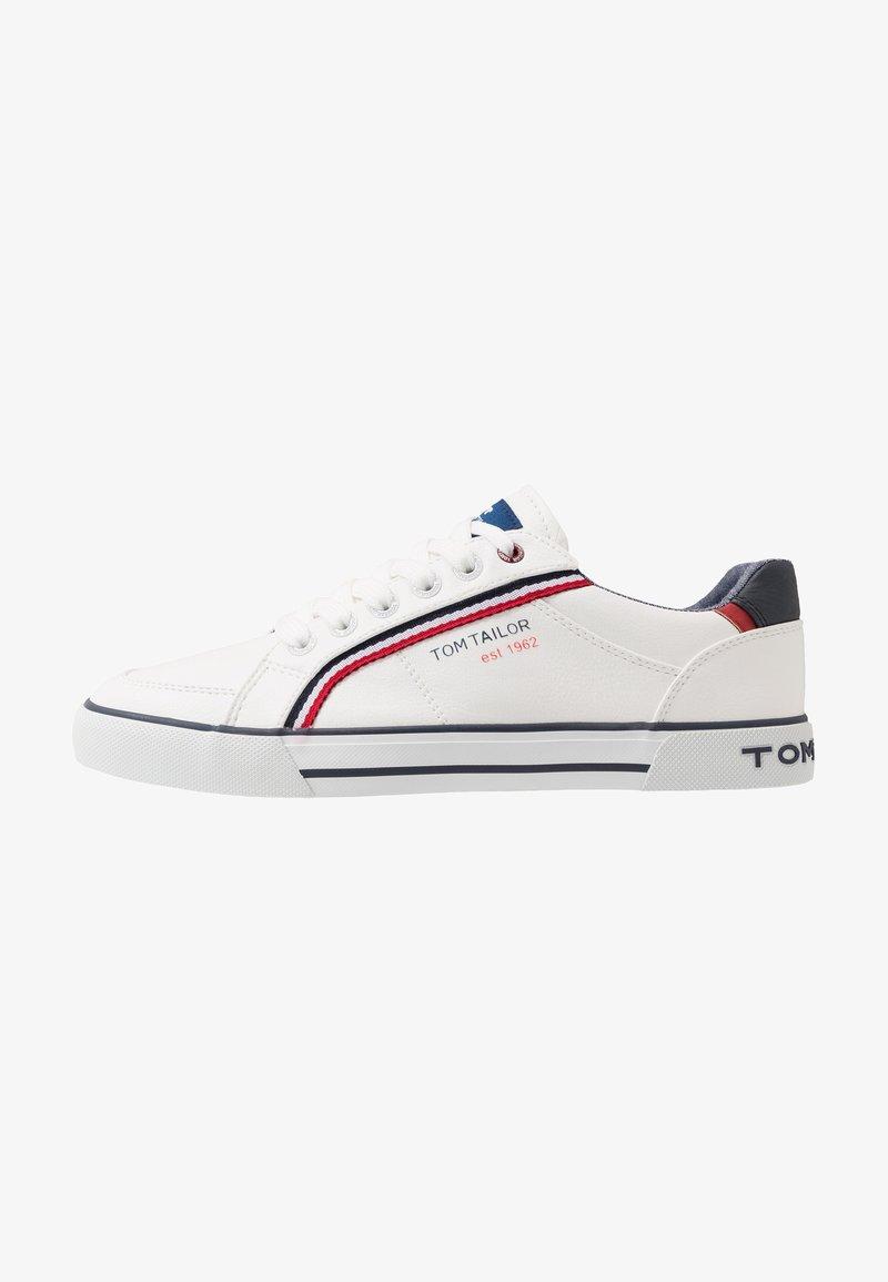TOM TAILOR - Sneaker low - white
