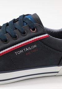 TOM TAILOR - Sneaker low - navy - 5