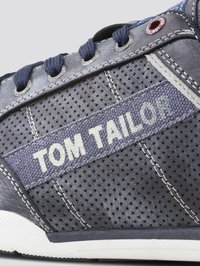 TOM TAILOR - SHOES SNEAKER MIT LOGO-PRINT - Sneakers laag - blue - 5