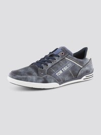 TOM TAILOR - SHOES SNEAKER MIT LOGO-PRINT - Sneakers laag - blue - 4