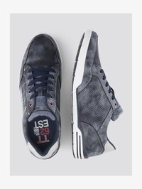 TOM TAILOR - SHOES SNEAKER MIT LOGO-PRINT - Sneakers laag - blue - 1