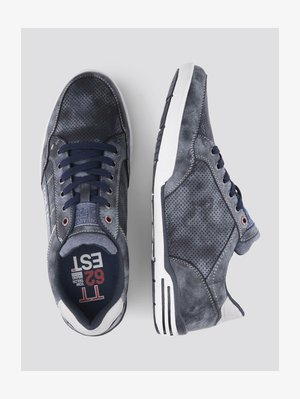 SHOES SNEAKER MIT LOGO-PRINT - Sneaker low - blue