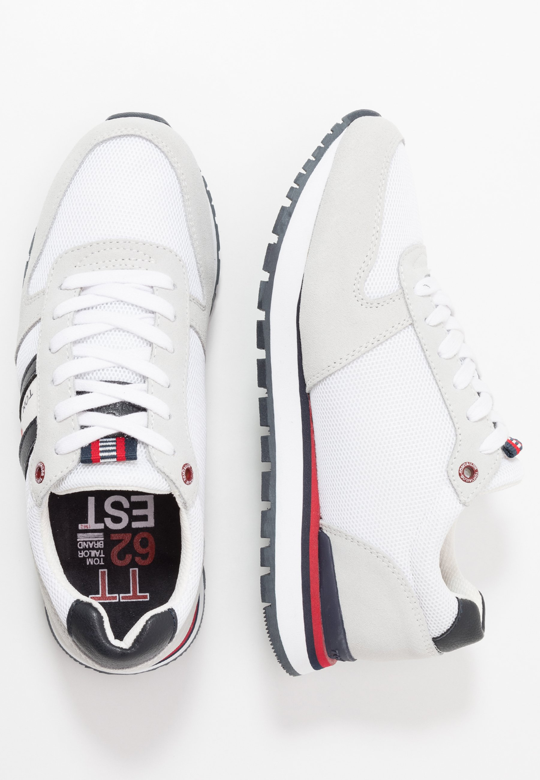 Tom Tailor Sneakers - White Vbz5W5y