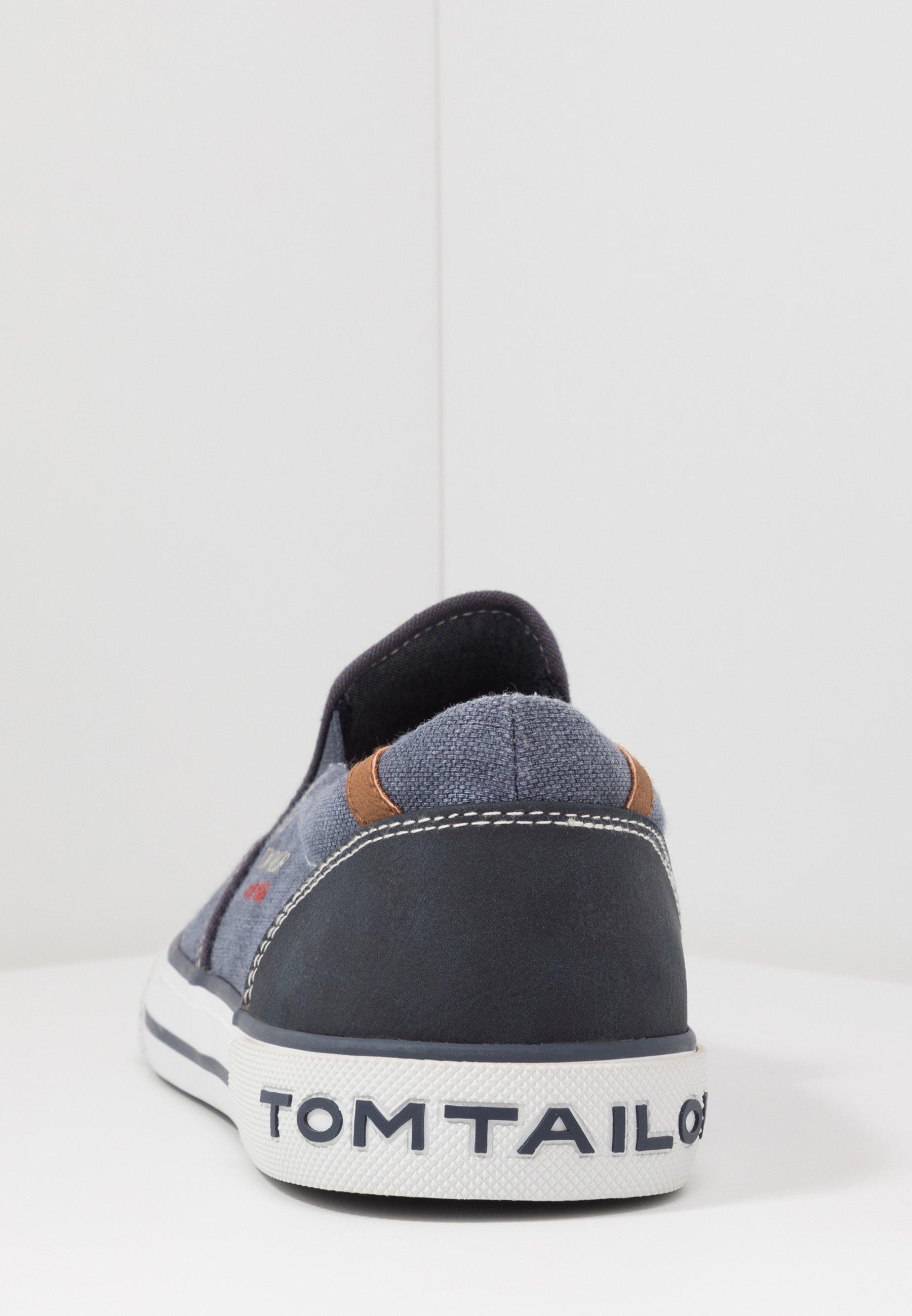 Tom Tailor Slip-ons - Navy