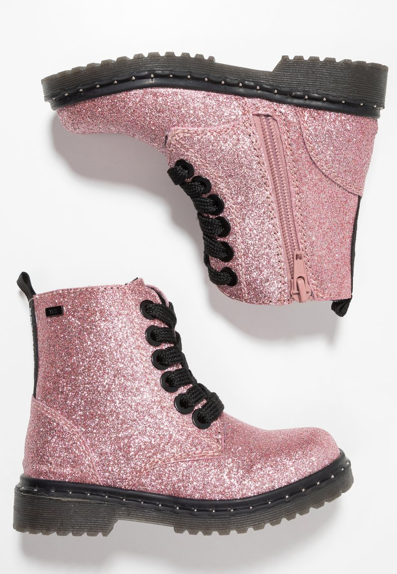 TOM TAILOR - Botines con cordones - rose