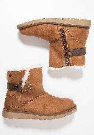 Korte laarzen - camel