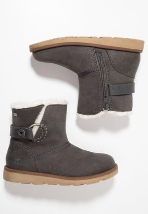 Classic ankle boots - coal