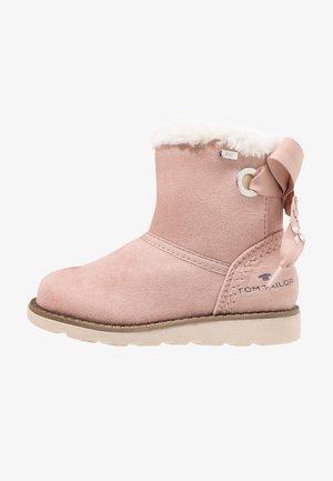Kotníkové boty - old rose