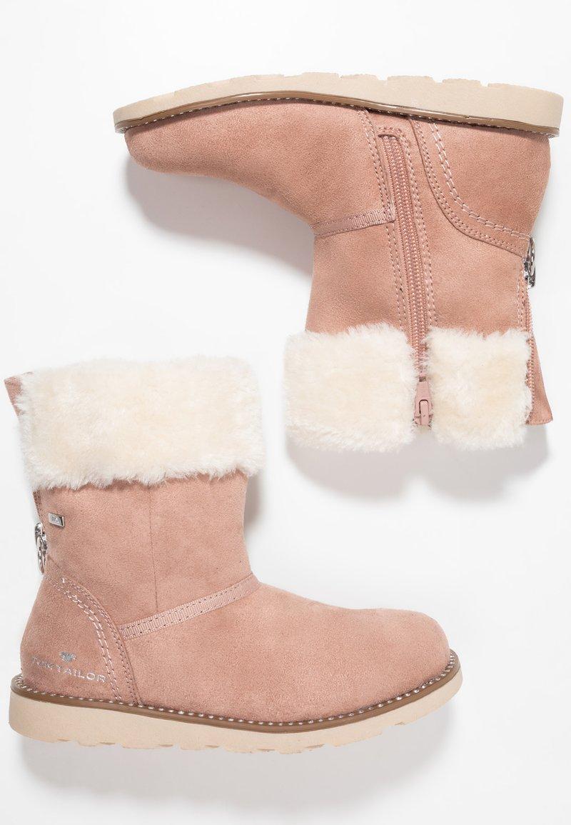 TOM TAILOR - Zimní obuv - rose