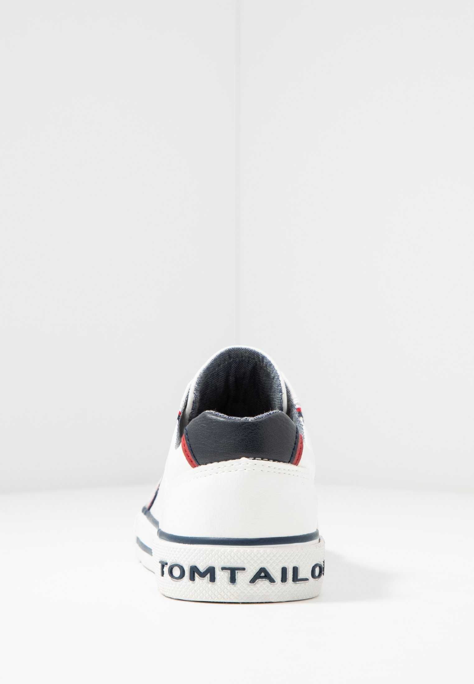 TOM TAILOR Sneakersy niskie - white
