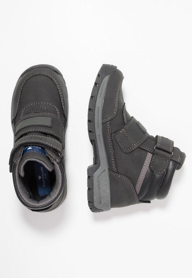 TOM TAILOR - Støvletter - black
