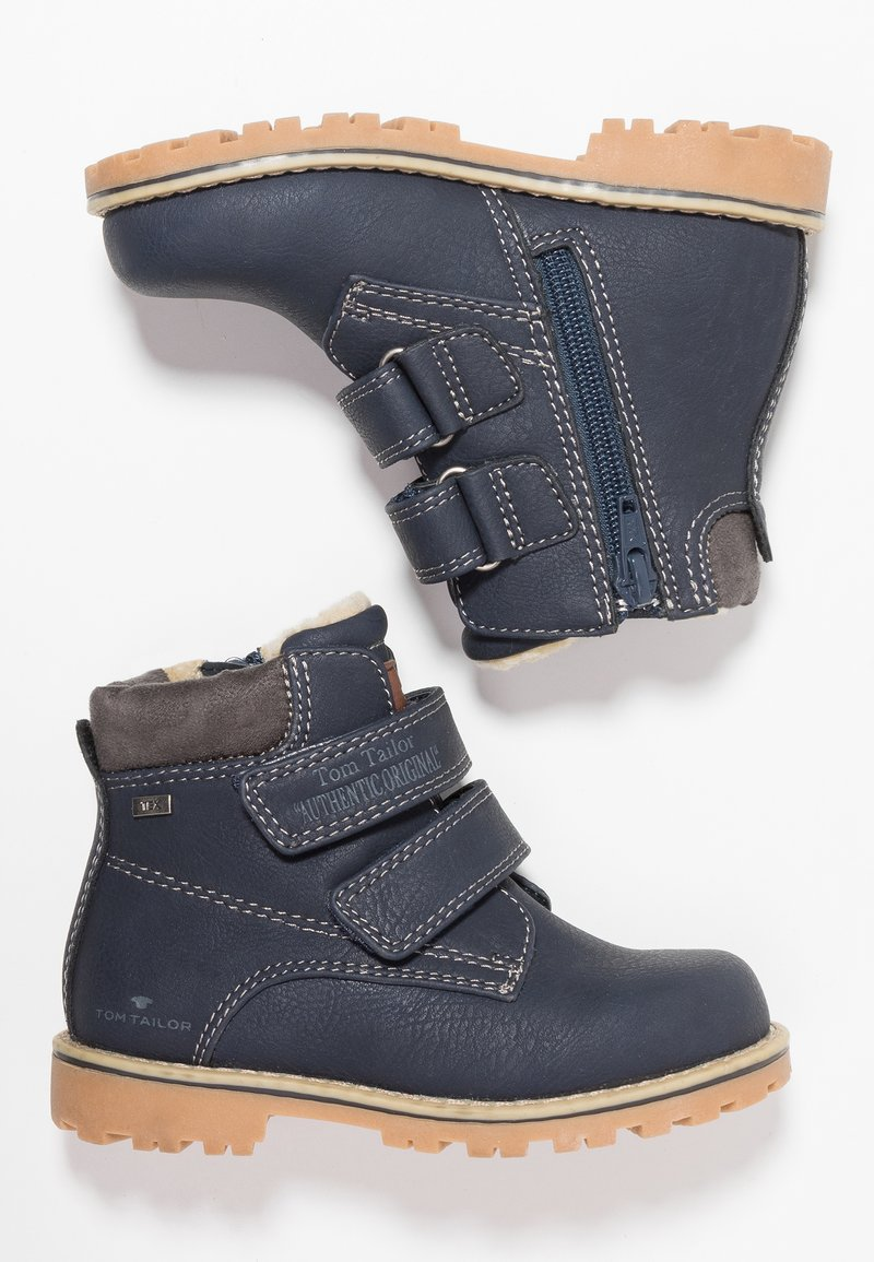 TOM TAILOR - Winter boots - navy