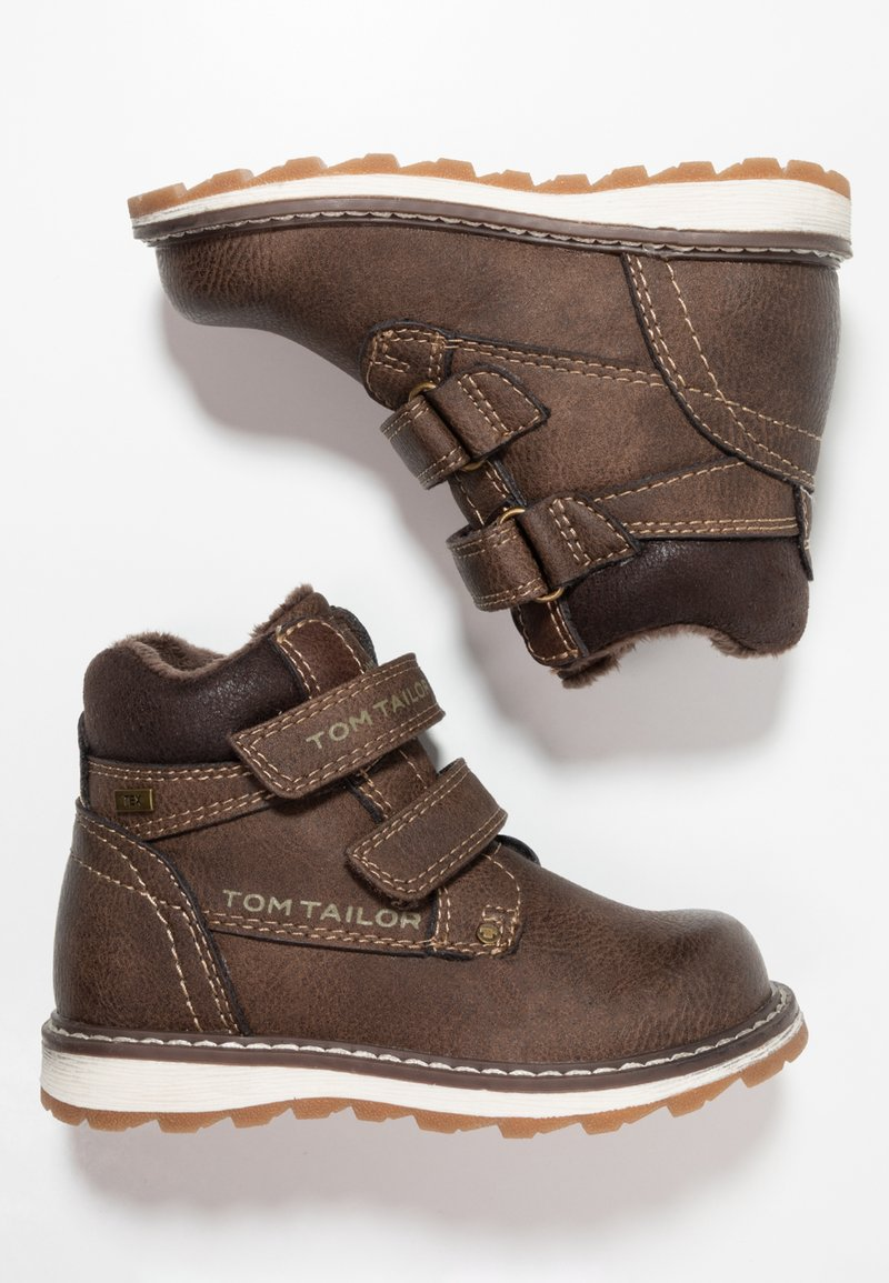 TOM TAILOR - Classic ankle boots - coffee
