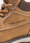 TOM TAILOR - Lace-up ankle boots - camel