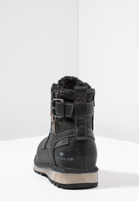 TOM TAILOR - Lace-up ankle boots - black - 4
