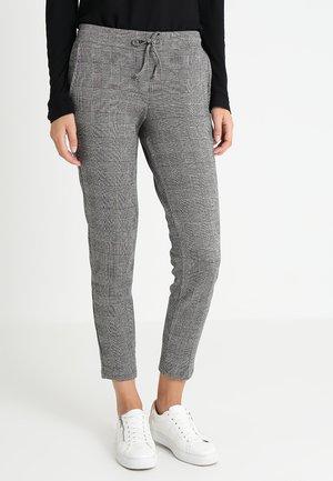 GLENCHECK PANTS - Pantaloni - coal grey