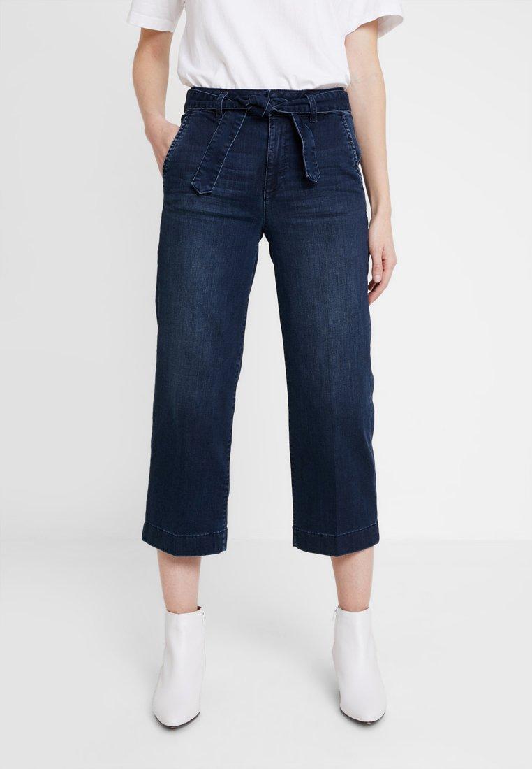 TOM TAILOR - Jeans Relaxed Fit - dark blue denim