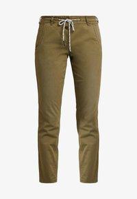 TOM TAILOR - Kalhoty - dry greyish olive - 4
