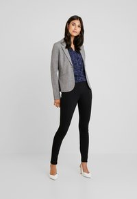 TOM TAILOR - SOLID PONTE TREGGINGS - Legging - deep black - 2