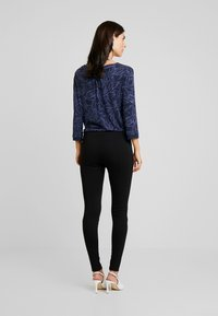 TOM TAILOR - SOLID PONTE TREGGINGS - Legging - deep black - 3
