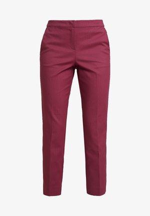 MIA SLIM - Pantalones - tile red