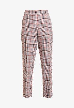 MIA - Trousers - black/orange/grey