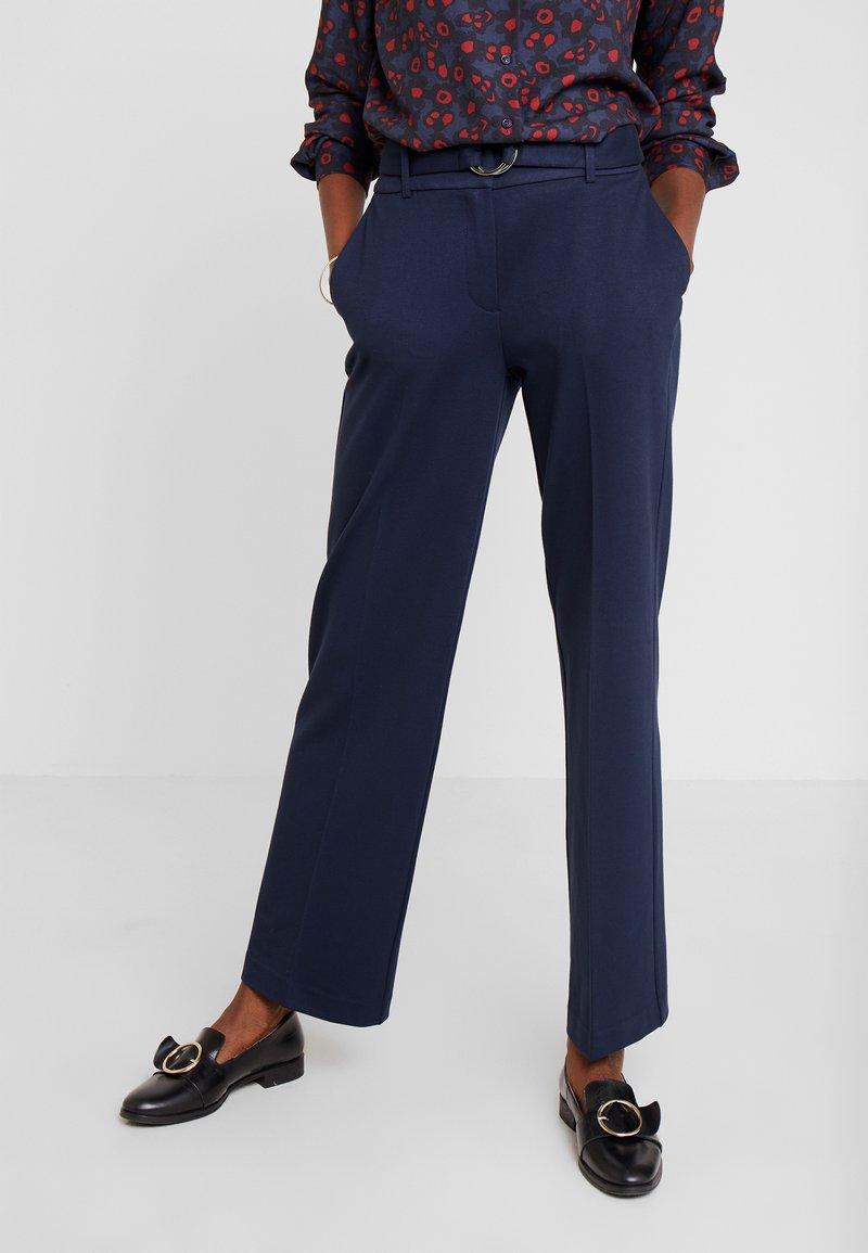 TOM TAILOR - LEA - Spodnie materiałowe - sky captain blue