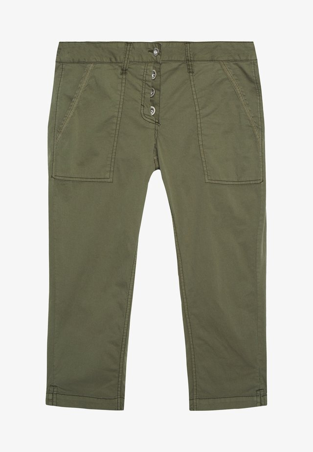 TAPERED RELAXED - Szorty - deep fresh olive green