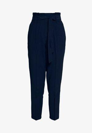PAPERBAG PANTS - Trousers - sky captain blue
