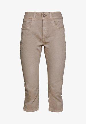 KATE CAPRI - Denim shorts - dusty taupe