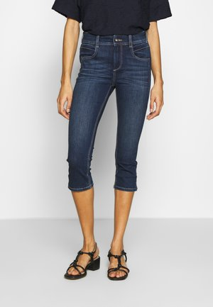 KATE CAPRI - Short en jean - dark stone wash denim