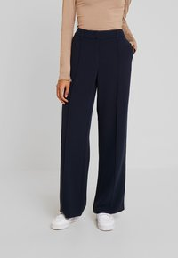TOM TAILOR - LEA STRAIGHT - Trousers - sky captain blue - 0
