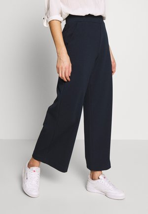 WIDE LEG PANTS - Pantaloni - sky captain blue