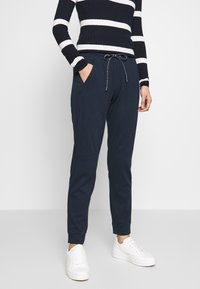 TOM TAILOR - SPORTIVE LOOSE FIT PANTS - Joggebukse - sky captain blue - 0