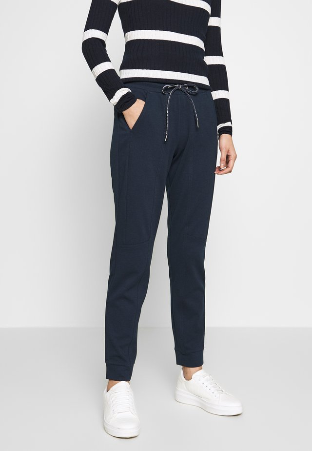 SPORTIVE LOOSE FIT PANTS - Pantalones deportivos - sky captain blue