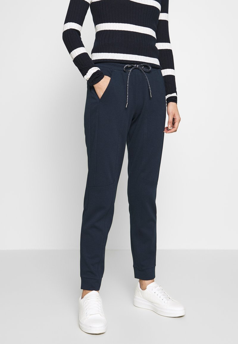 TOM TAILOR - SPORTIVE LOOSE FIT PANTS - Joggebukse - sky captain blue