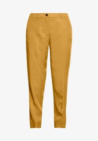 mine to five TOM TAILOR - PANTS  - Tygbyxor - clay beige brown - 4