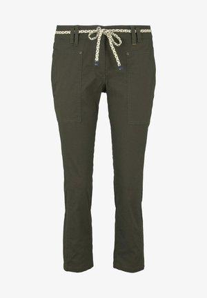 Pantaloni - woodland green