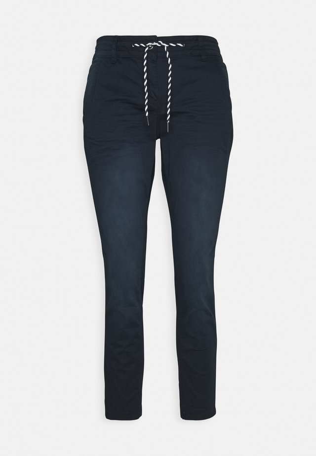 TAPERED RELAXED - Spodnie materiałowe - dark blue
