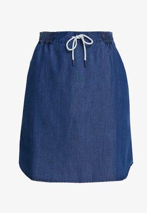 SKIRT - Spódnica jeansowa - blue denim
