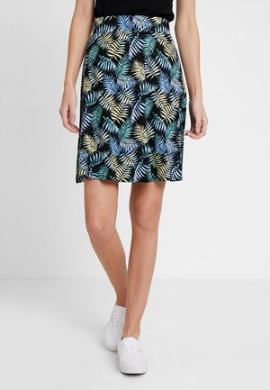 EASY PRINTED SKIRT - A-lijn rok - black