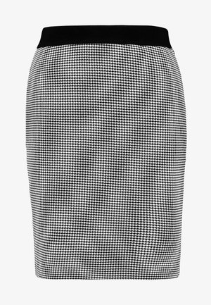 SKIRT STRUCTURE - Falda de tubo - black