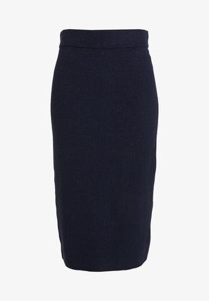SKIRT - Pouzdrová sukně - sky captain blue