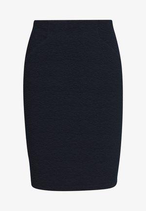 SOLID STRUCTURE - Pencil skirt - sky captain blue