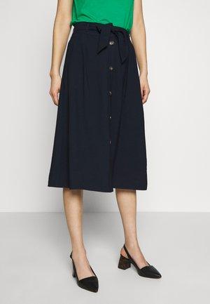 SKIRT SOLID FEMININE - A-line skirt - sky captain blue