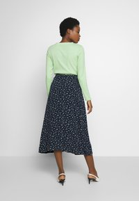 TOM TAILOR - SKIRT - Omslagsskjørt - dark blue - 2