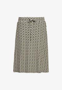 TOM TAILOR - SKIRT PRINTED - A-line skirt - khaki - 0